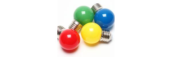 E27 Sockel farbig