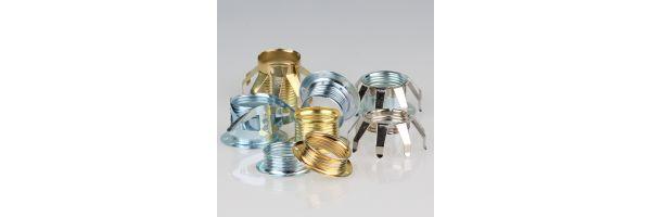 E14 Schraubring Metall