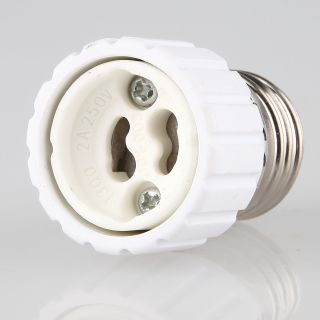 E27 auf GU10 Lampen-Fassung Adapter Keramik 4A/230V/125C°