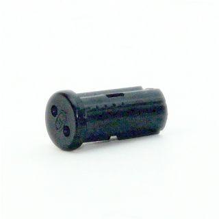 12V Niedervolt G4 Mini Halogen Fassung schwarz mit Steck und Massekontakt