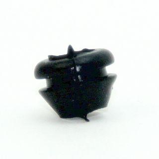 Kabeldurchführungstülle konisch schwarz 11x8 mm für 8 mm Lochbohrung