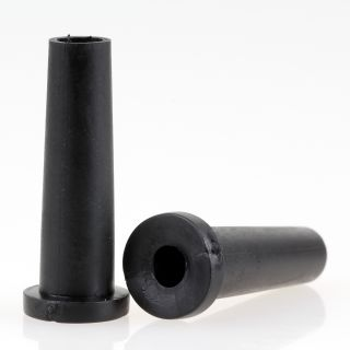 Knickschutz-Tülle Länge 35mm Durchgang 5,5mm schwarz mit Haltewulst