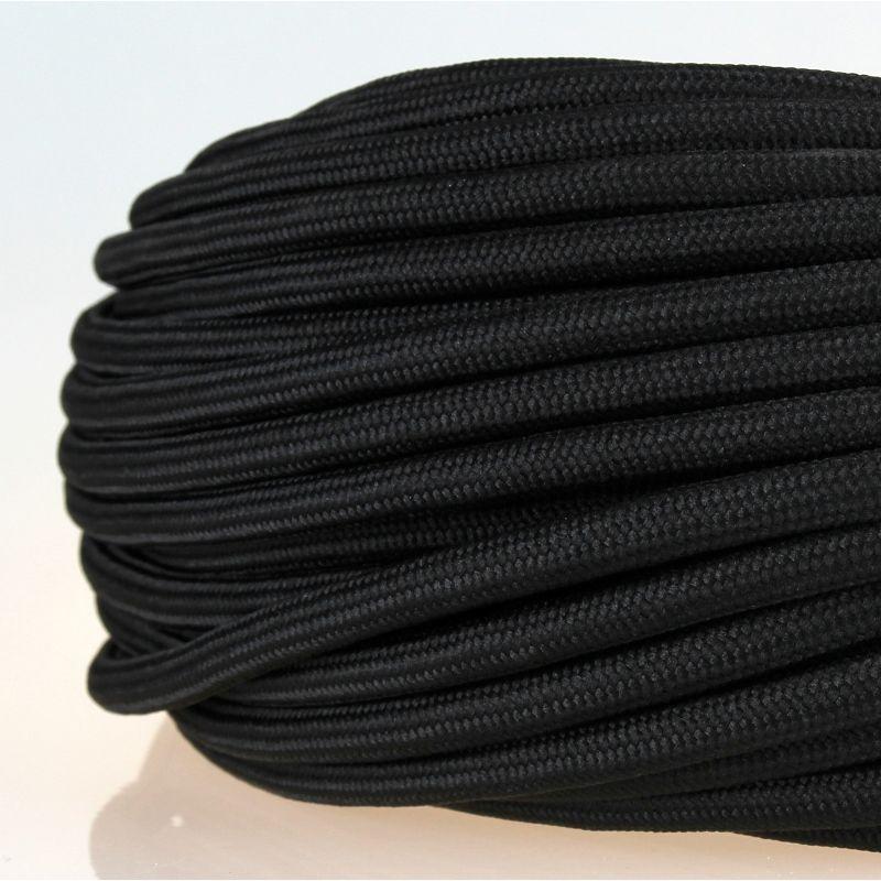 Dreiadrig Hohe Flexibilit/ät Wei/ß 3x0,75mm/² Rund 3 Meter Kabel Am St/ück Textilkabel F/ür Lampe
