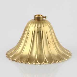 Lampen Baldachin Metall 100x57mm messing roh