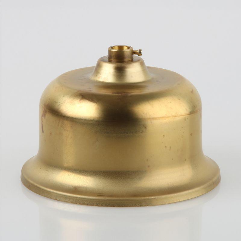 lampen leuchten baldachin metall 110x68mm messing roh 16 95. Black Bedroom Furniture Sets. Home Design Ideas
