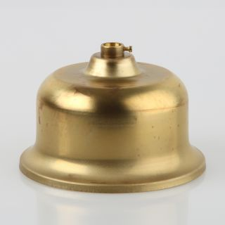 Lampen Baldachin Metall 110x68mm messing roh