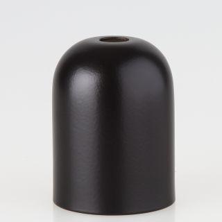E27 Metall Fassungshülse Zierhülse 43x57 schwarz