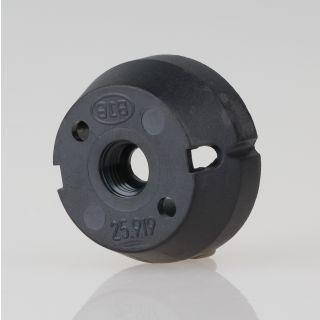 GU10 / GZ10 anschraubbare Isolierhaube M8x1 schwarz