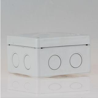 Abzweigdose Verteilerdose grau 110x110x67 mm FK210, 7 Einführungen iP54/65