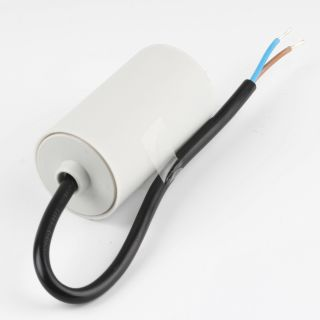 35uF 450V Anlaufkondensator Motorkondensator mit Kabel spritzwassergeschützt