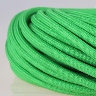 Textilkabel Stoffkabel kiwi-grün 3-adrig 3x0,75 Zug-Pendelleitung S03RT-F 3G0,75