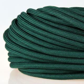 Textilkabel Stoffkabel dunkelgrün 3-adrig 3x0,75 Zug-Pendelleitung S03RT-F 3G0,75