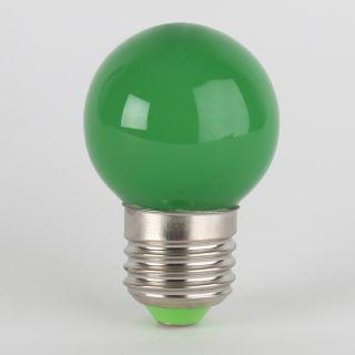 LED Leuchtmittel Grün Tropfenform E27 Sockel 220 240V 1W