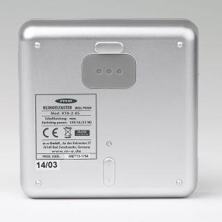 Wundervoll Klingeltaster 2-fach Aluminium für Aufputz-Montage, 26,95 € QQ04
