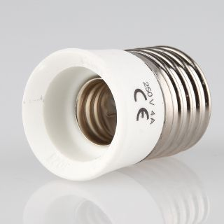 Adapter für LED Lampen von E27 auf E40 Fassungsadapter E27 E40 Sockeladapter