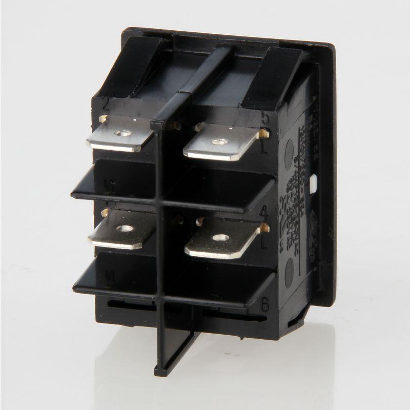 250V//16A mit Signallampe grün universeller Netzschalter Schalter EIN//AUS 2 pol