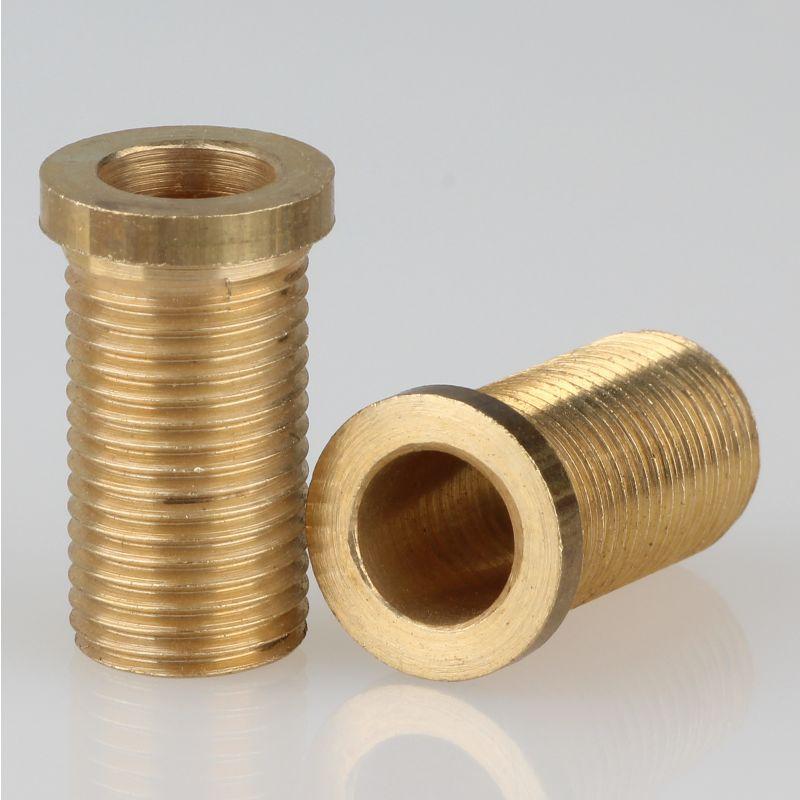 Trompeten-Nippel 12x20 Messing M10x1x18 ohne Verdrehschutz