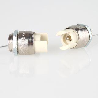 Ba9s Fassung Glühlampe Lampe LED Stecker Kabel Sockel Kabel Lampenfassung