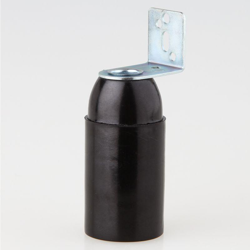e14 fassung schwarz ohne au engewinde mit metall winkel 2. Black Bedroom Furniture Sets. Home Design Ideas