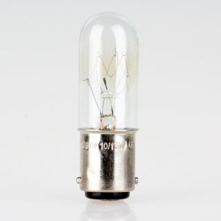 B15d Bajonett Ersatz Glühlampe für Nähmaschinen 15W/230V