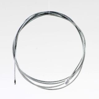 Stahlseil-Abschnitt 2m lang 1,5mm Durchmesser