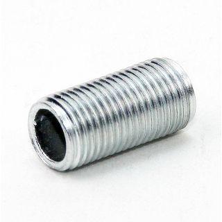 Lampen Gewinderohr Länge 1000mm verzinkt M10x1x1000