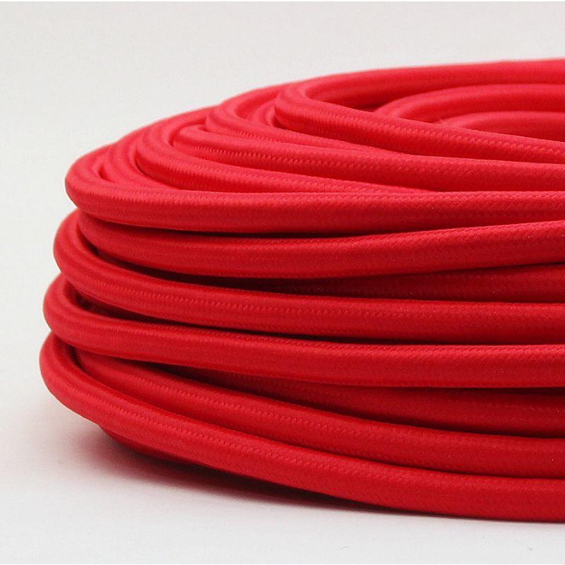 textilkabel rot 3 adrig 3x1 5 mm gummischlauchleitung 3g. Black Bedroom Furniture Sets. Home Design Ideas