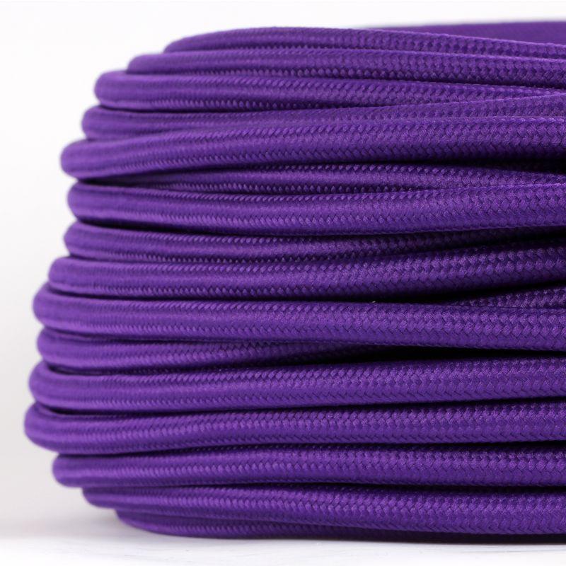 textilkabel violett im textilkabel shop in hamburg kaufen. Black Bedroom Furniture Sets. Home Design Ideas