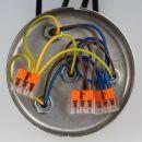 221-413 Wago Compact Verbindungsklemme 3-polig für alle Leitungsarten