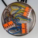 221-415 Wago Compact Verbindungsklemme 5-polig für alle Leitungsarten