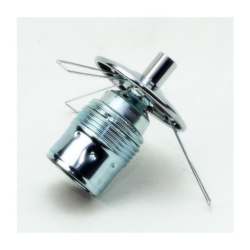 lampenschirm lampen glashalter 16x90mm mit 2 fach feder f r alle. Black Bedroom Furniture Sets. Home Design Ideas