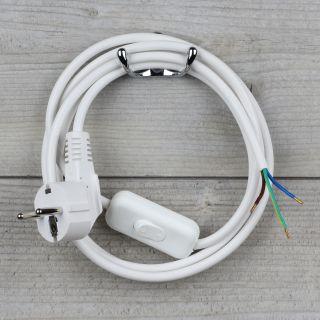 lampen anschlussleitung mit schalter und stecker 6 95. Black Bedroom Furniture Sets. Home Design Ideas