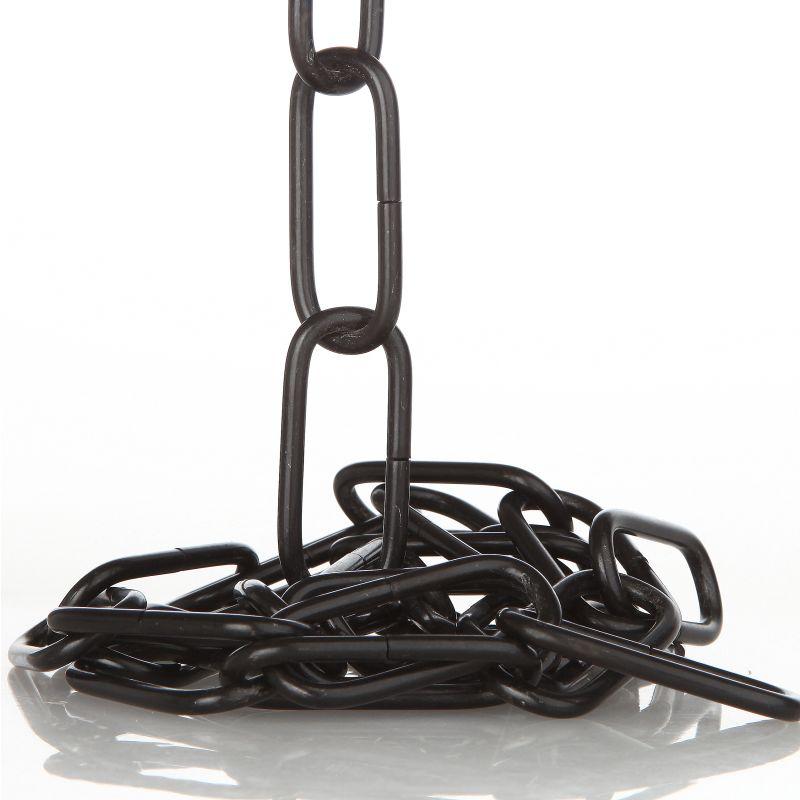 3 8 mm lampenkette zierkette glatt 20x47 f r schwere leuchten schwarz lackiert 5 95. Black Bedroom Furniture Sets. Home Design Ideas